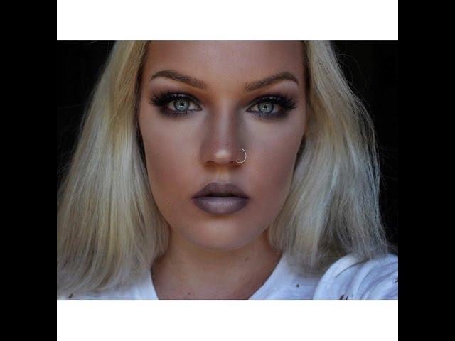 Grungy Grey Makeup Tutorial