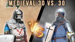 Chivalric Group Fighting (Combat of the Thirty)