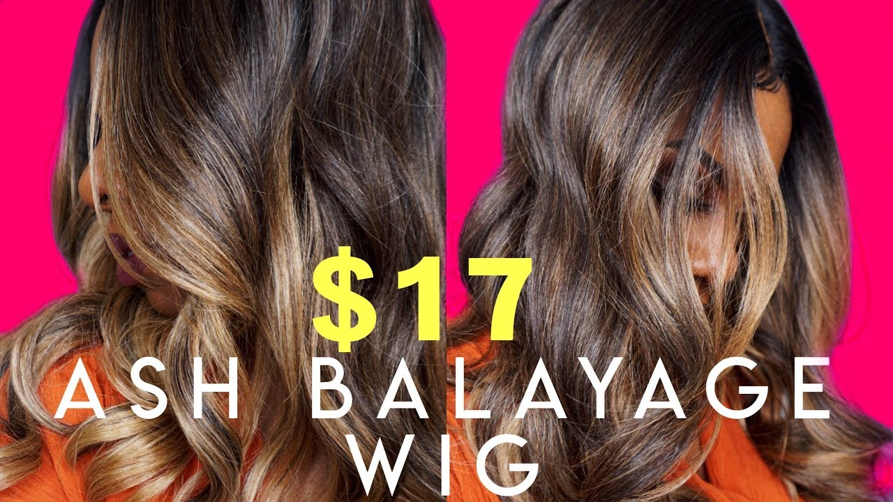 reputable site wholesale buying now FOOL THEM! $17 ASH BLONDE BALAYAGE WIG WITH FACE FRAMING HIGHLIGHTS/ MONEY  PIECE! SPRING GOALS