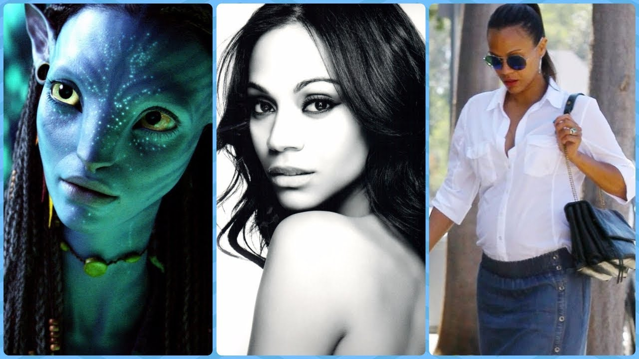 Zoe Saldana Famous For Avatar Star Trek Guardian Of The Galaxy Rare Photos