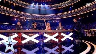 Stephen gets the gossip on Sarah's shock elimination   Semi-Final 3   Britain's Got More Talent 2017