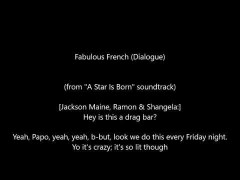Lady Gaga - Fabulous French (Dialogue)