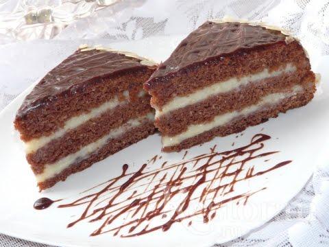 Торт без сливочного масла