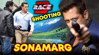 RACE 3 Shooting In Sonamarg Begins | Salman Khan | Jacqueline Fernandez