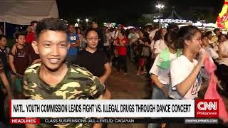 National Youth Commission leads fight vs. illegal drugs through dance