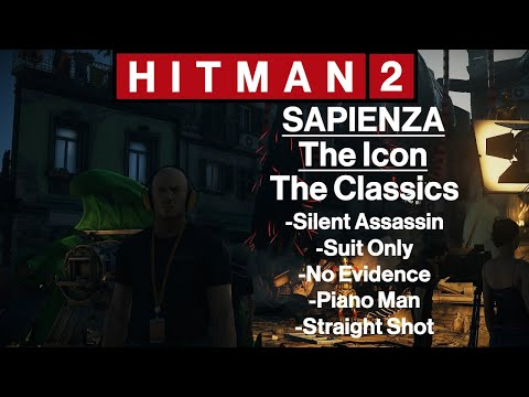 Hitman 2 Sapienza The Icon Silent Assassin Suit Only Piano