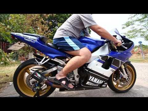 Yamaha R1 2001 + AR Exhaust