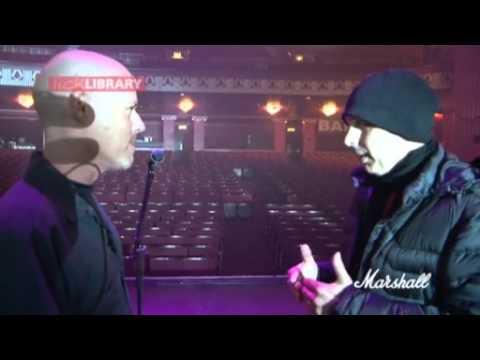 Joe Satriani talks about his live rig
