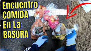 DUMPSTER DIVING - LO QUE TIRAN EN USA MAS Que Bendecidos Este Dia - Encuentro COMIDA EN LA BASURA!!