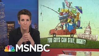 Donald Trump Scrambling After Weak Preparation | Rachel Maddow | MSNBC