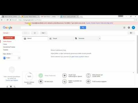 Web Sitesi Uzantılı Mail Adresinize Gmail Hesabını Bağlama (Yönlendirme)