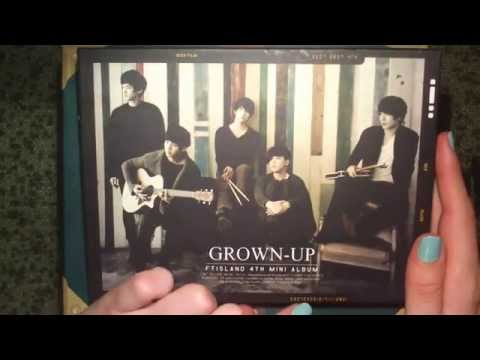 Unboxing FT Island 에프티아일랜드 4th Mini Album Grown Up