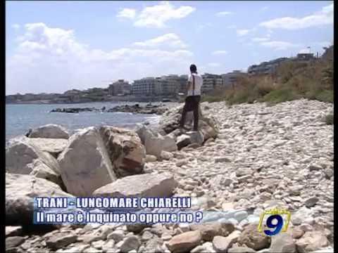 Trani Lungomare Chiarelli Il Mare è Inquinato Oppure No Youtube