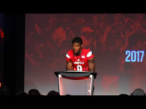 Lamar Jackson Louisville Football Kickoff Luncheon 8-15-2017