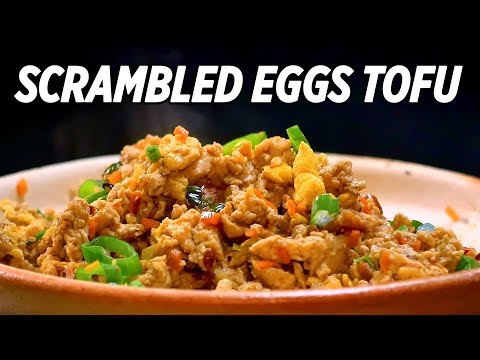 Best Ever Scrambled Eggs and Tofu Recipes • Taste The Chinese Recipes Show