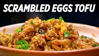 Best Ever Scrambled Eggs and Tofu Recipes • Taste The Chinese Recipes Show thumbnail