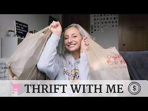 THRIFT WITH ME *Tommy Hilfiger, Calvin Klein, Timberland & Levi's | Lacey Elizabeth