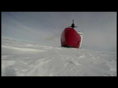 Coast Guard Cutter Polar Star Icebreaking