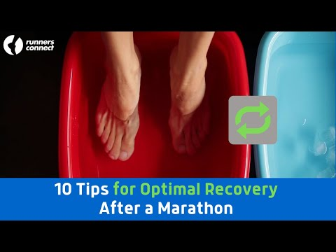 10 Tips for Optimal Recovery After a Marathon