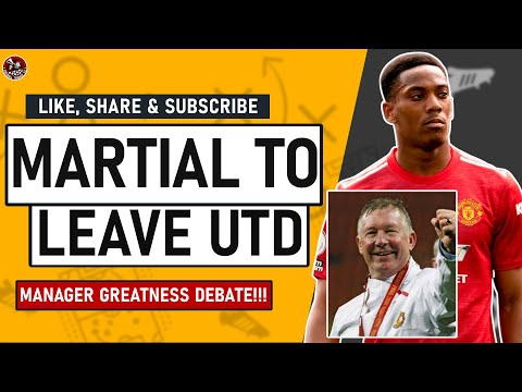 IT'S OVER! Martial's Man United Career is OVER! Greatest Manager Debate | The Terrace