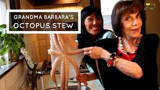 How To Make Greek Octopus Stew: Grandma Barbara's Family Recipe (EPISODE #2)