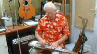 On The Beach at Waikiki played by Rex Reynolds -Steel guitar