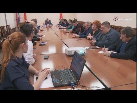 В администрации Серпухова прошло совещание на тему нововведений при утилизации коммунальных отходов