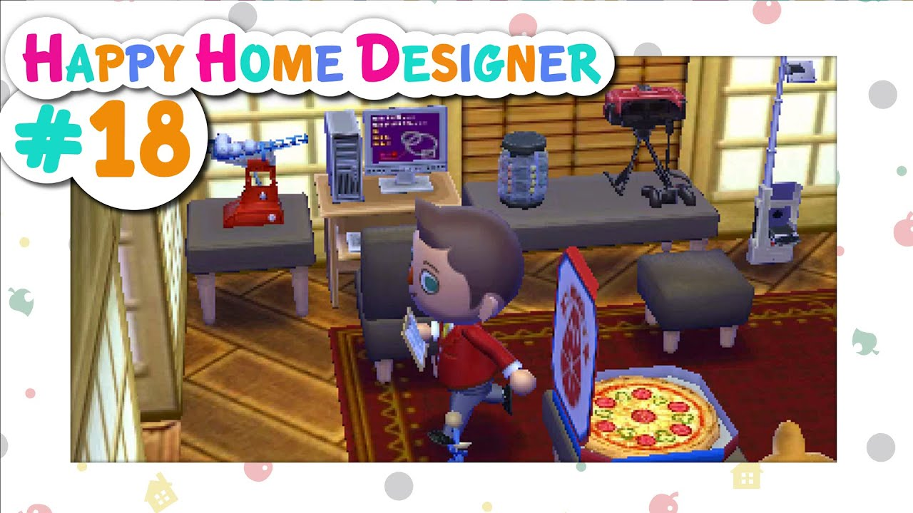 Animal Crossing Happy Home Designer 18 Sheldon 39 S Gaming Extravaganza Youtube