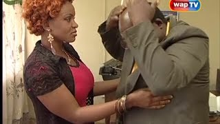 Papa Ajasco and Cossy Orjiakor in THE LIONS DEN Episode 2