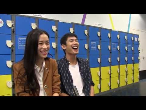 Rebecca Lim and Elvin Ng on a skating date