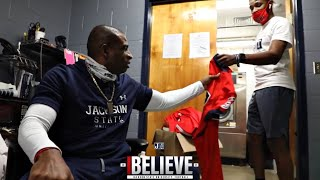 "Deion Sanders ""REVEALS JACKSON STATE NEW UNDER ARMOUR UNIFORMS"" 