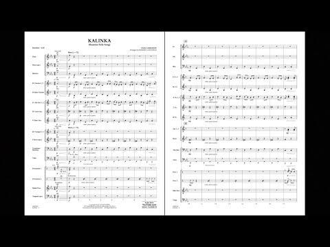 Kalinka (Russian Folk Song) by Ivan Larianov/arr. Robert Longfield