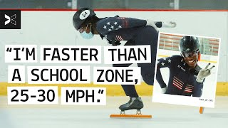 Bringing the FLAVOR to US Speedskating | A Short Film About: Maame Biney