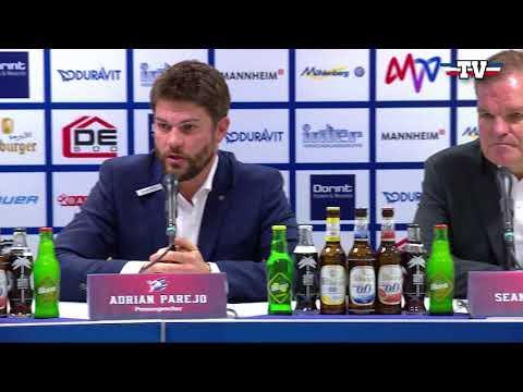 Pressekonferenz: Adler Mannheim - Grizzlys Wolfsburg