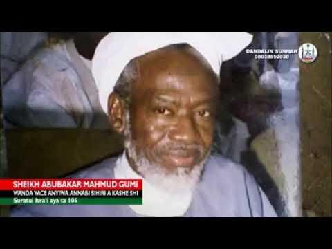 Download Sheikh Yahya Masussuka Gumi yasan gaskiya