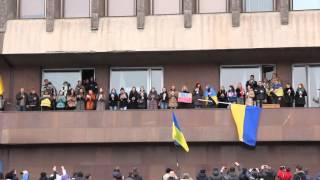 Запорожье против ввода российских войск в Украину