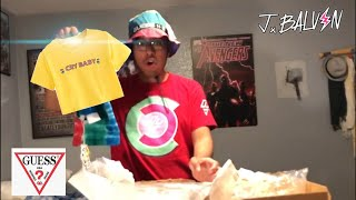 Unboxing Guess x J balvin Colores Collection!!!