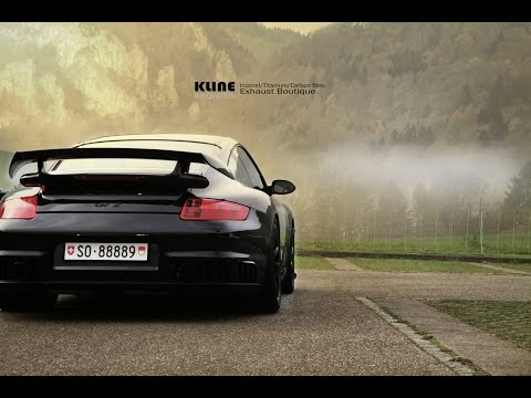 porsche 997 gt2 inconel race exhaust by kline innovation. Black Bedroom Furniture Sets. Home Design Ideas