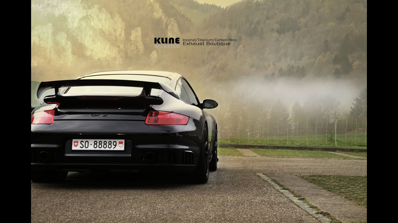 porsche 997 gt2 inconel race exhaust by kline innovation youtube. Black Bedroom Furniture Sets. Home Design Ideas