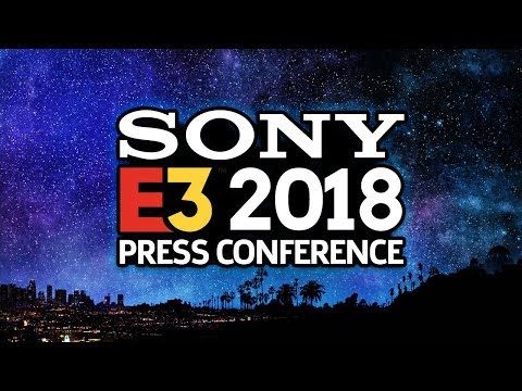 FULL Sony E3 2018 Press Conference