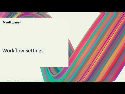 Workflow Setting | webMethods.io Training