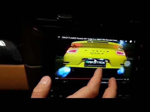 Porsche 911 Android PCM