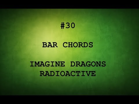 Tamil Guitar Lessons 30 Radioactive Barre Chords Youtube