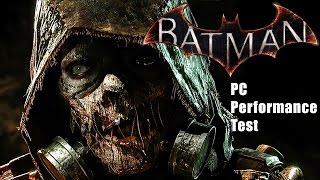 Batman Arkham Knight PC Performance Test 30fps vs 60fps