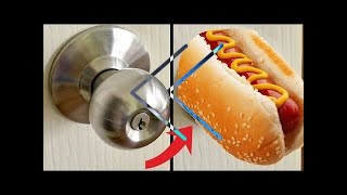 Reverse - How To Basic - How To Replace a Door Knob With a Hot Dog