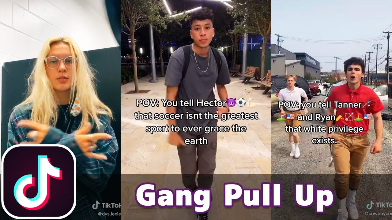 If Me and My Gang Pull Up | TikTok Compilation