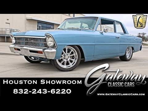 1966 Chevrolet Nova Gateway Classic Cars #1440 Houston Showroom