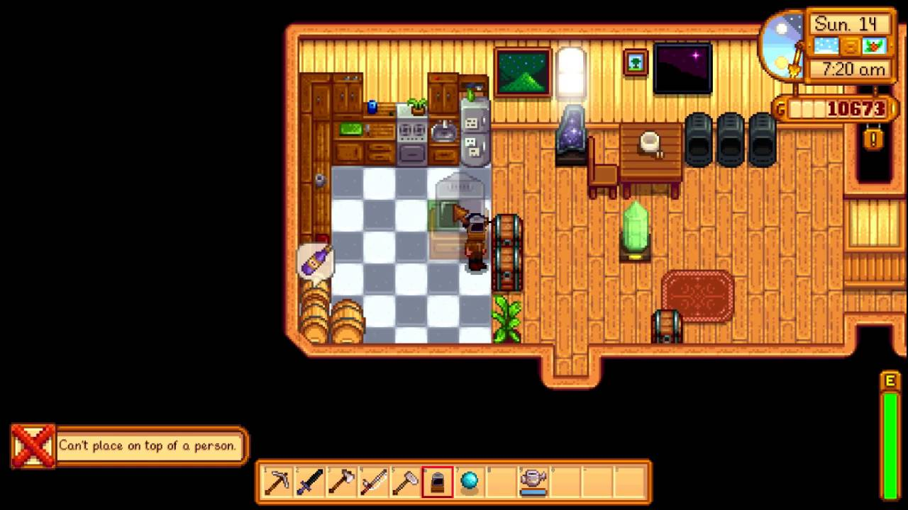 Stardew Valley How To Rotate Furniture Quick Tips Youtube