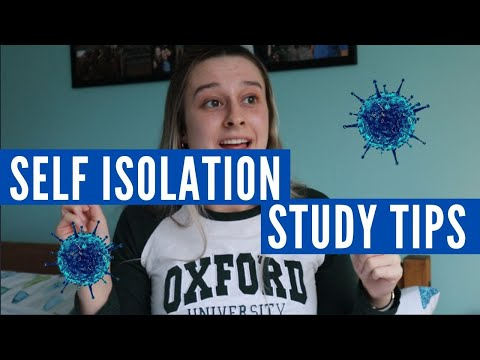 6 Study Motivation Tips for Social Isolation // Tips for Staying Focused @ Home A Level, GCSE, Uni