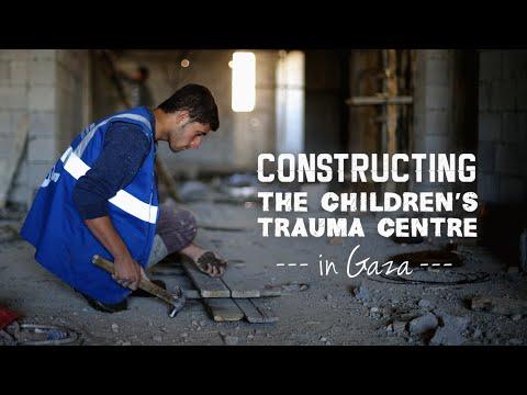 Constructing a Children's Trauma Centre in Gaza (Jan 2016)